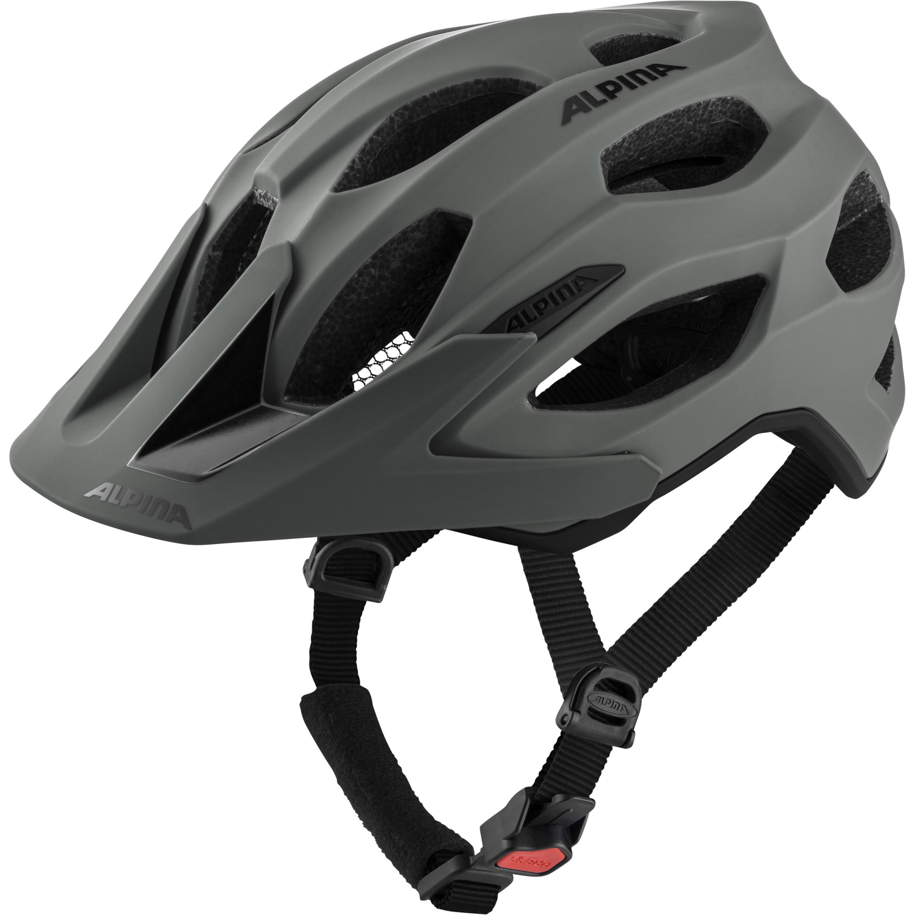 Alpina Carapax 2.0 Helmet - coffee-grey matt