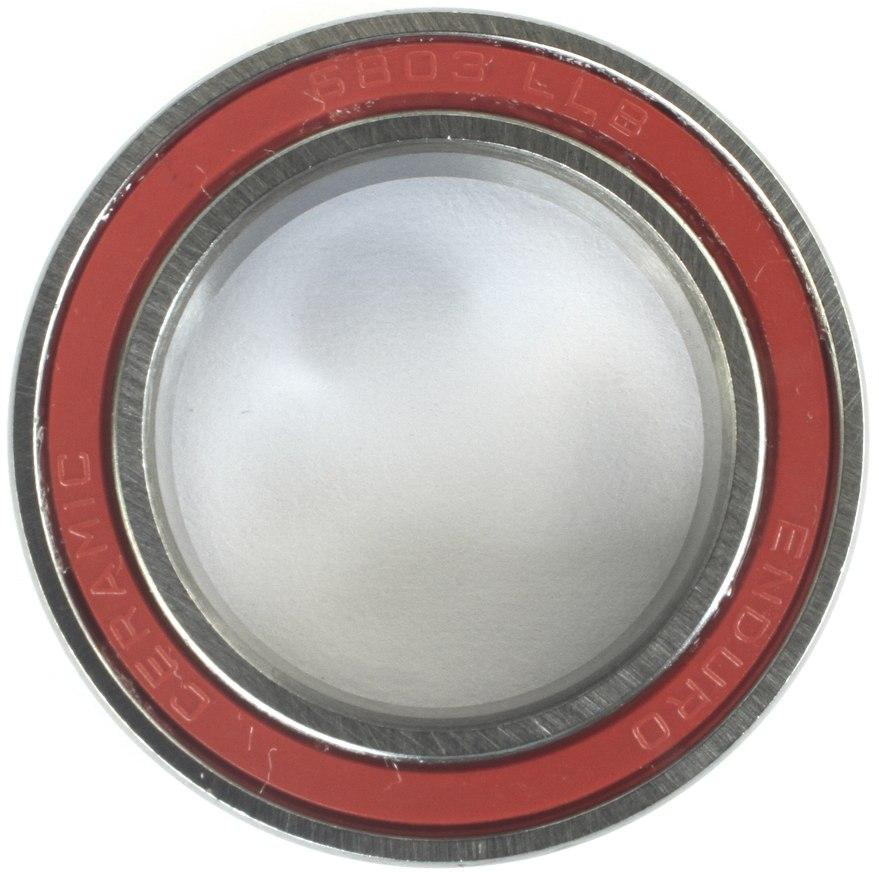 Enduro Bearings CH6803 LLB - ABEC 5 - Ceramic Hybrid Ball Bearing - 17x26x5mm