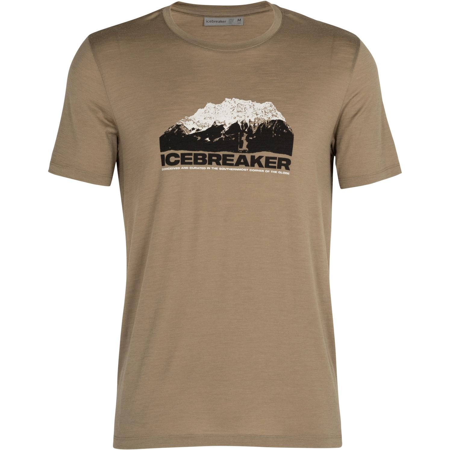 Produktbild von Icebreaker Tech Lite Crewe Icebreaker Mountain Herren T-Shirt - Flint