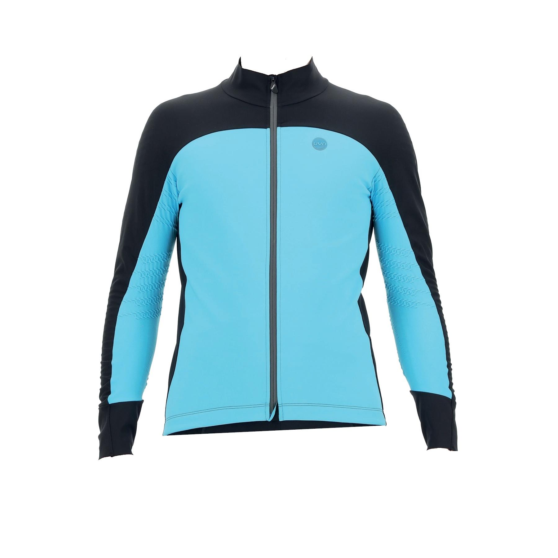 Image of UYN Biking Coreshell Aerofit Jacket - Turquoise/Black/Turquoise