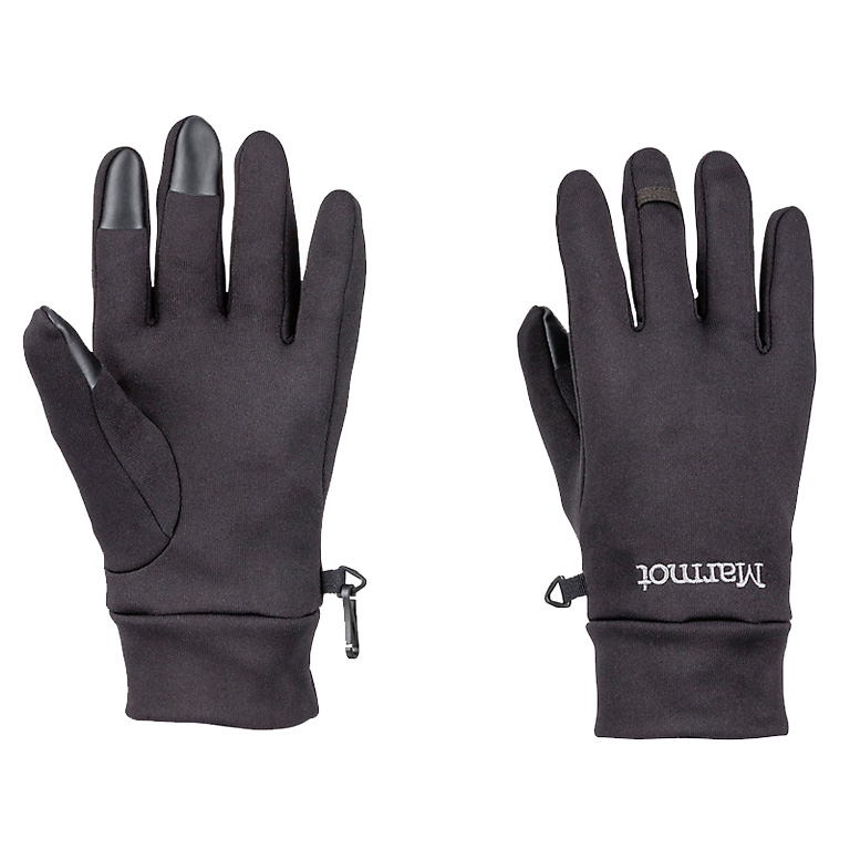 Picture of Marmot Power Stretch Connect Glove - black