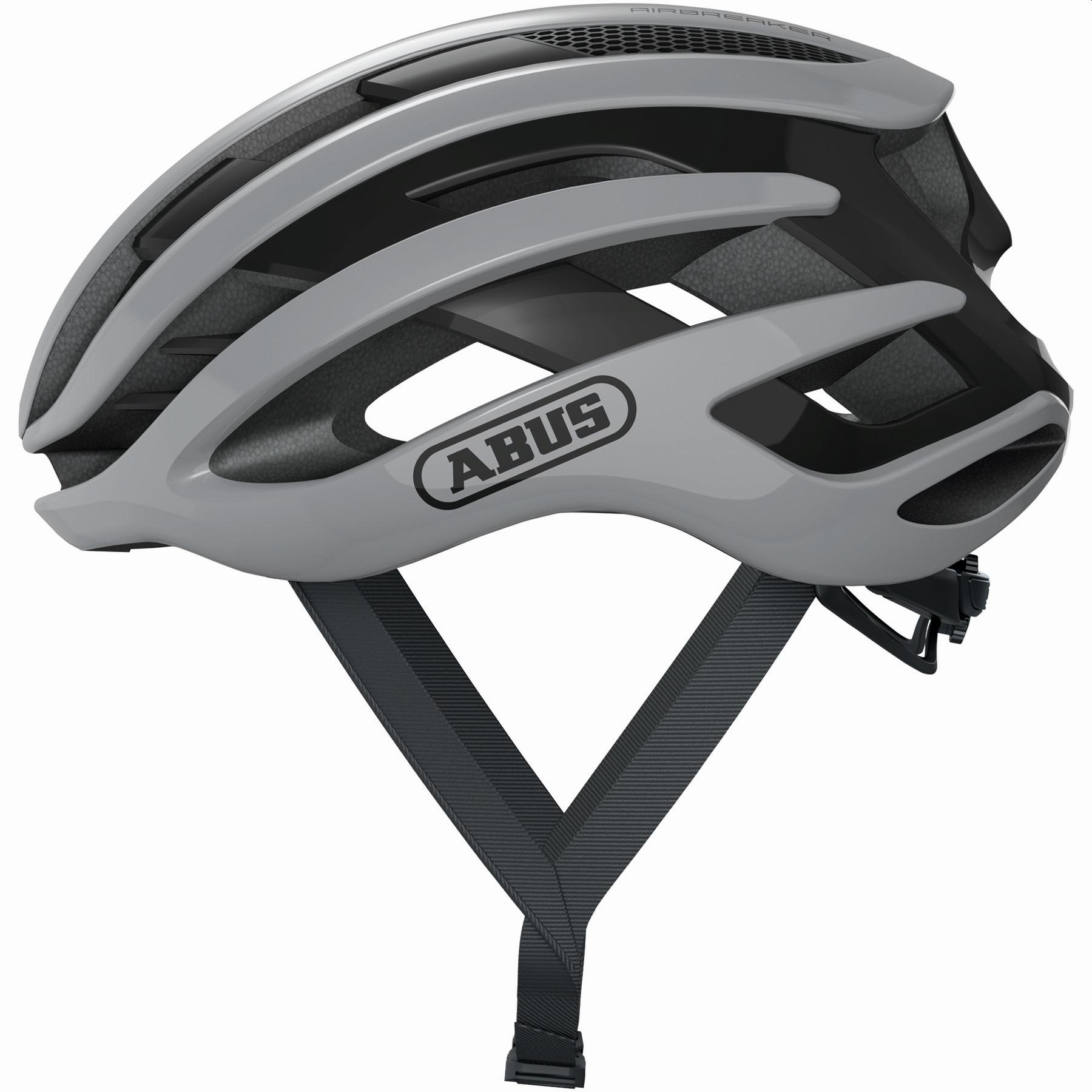 ABUS AirBreaker Casco de Bicicleta - race grey