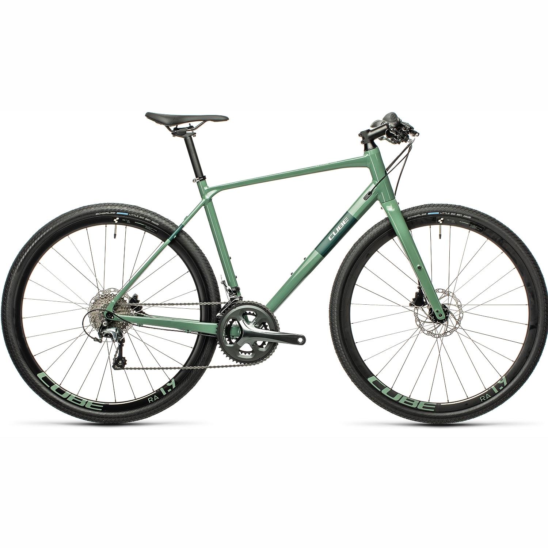 CUBE SL Road Pro - Fitnessbike - 2021 - greygreen/green