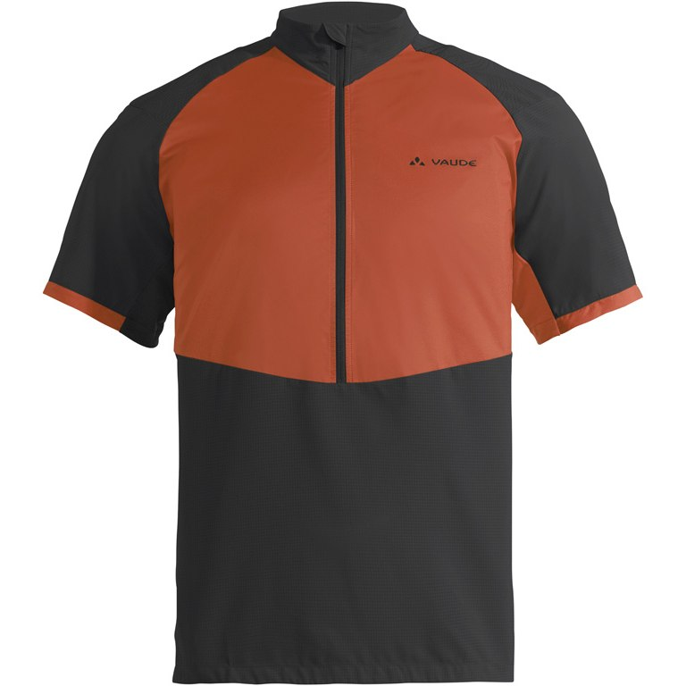 Vaude Men's eMoab Shirt for eMountain biking - paprika