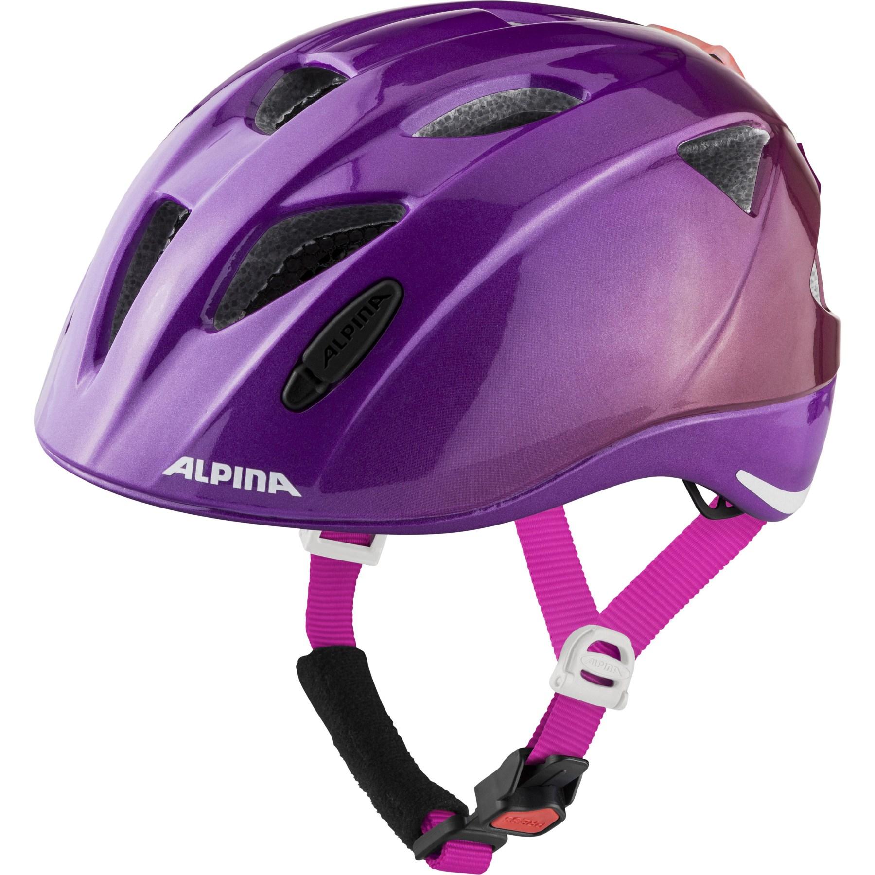 Alpina Ximo Flash Kids Helmet - berry gloss