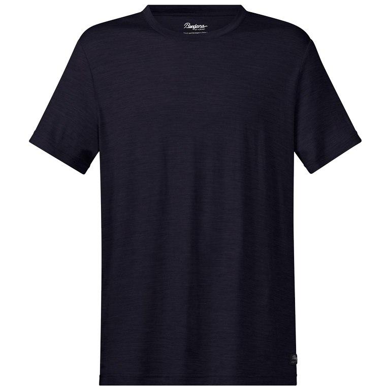 Bergans Oslo Wool T-Shirt - dark navy
