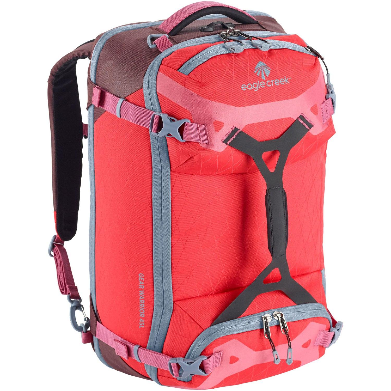 Image of Eagle Creek Gear Warrior Travel Pack 45L + 8L Travel Bag - coral sunset