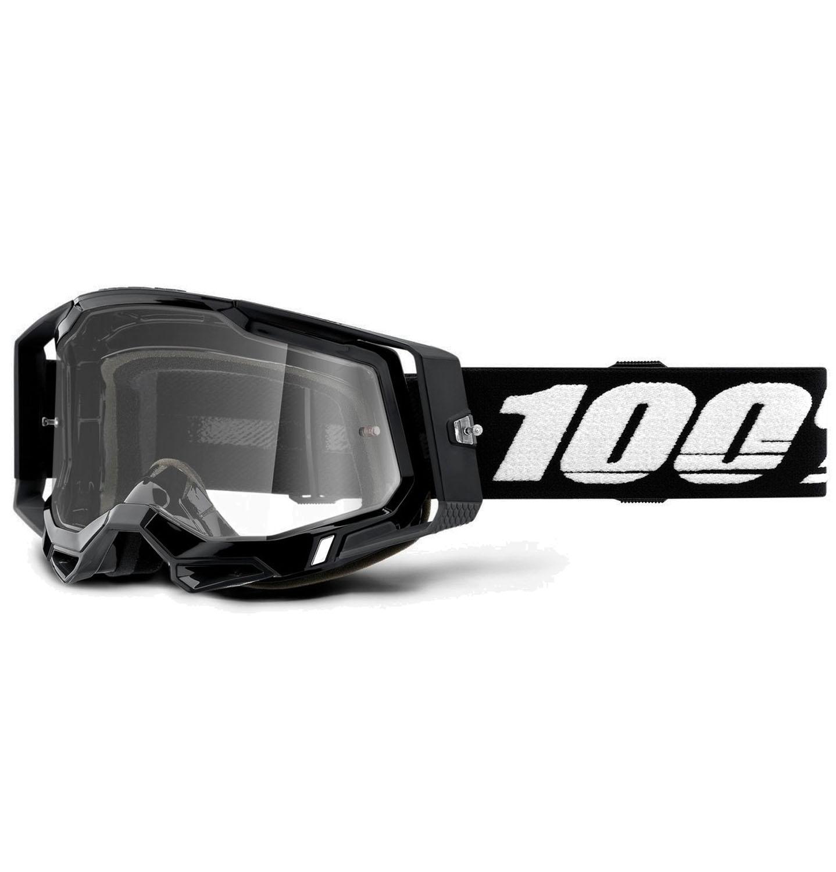 Imagen de 100% Racecraft 2 Goggle Clear Lens Gafas - Black