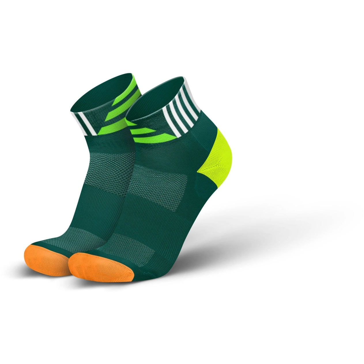 Produktbild von INCYLENCE Ultralight Contrasts Socken - Green