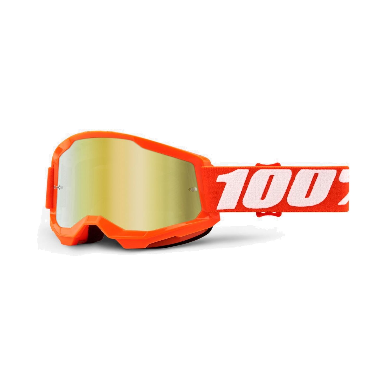 Imagen de 100% Strata 2 Goggle Mirror Lens Gafas - Orange