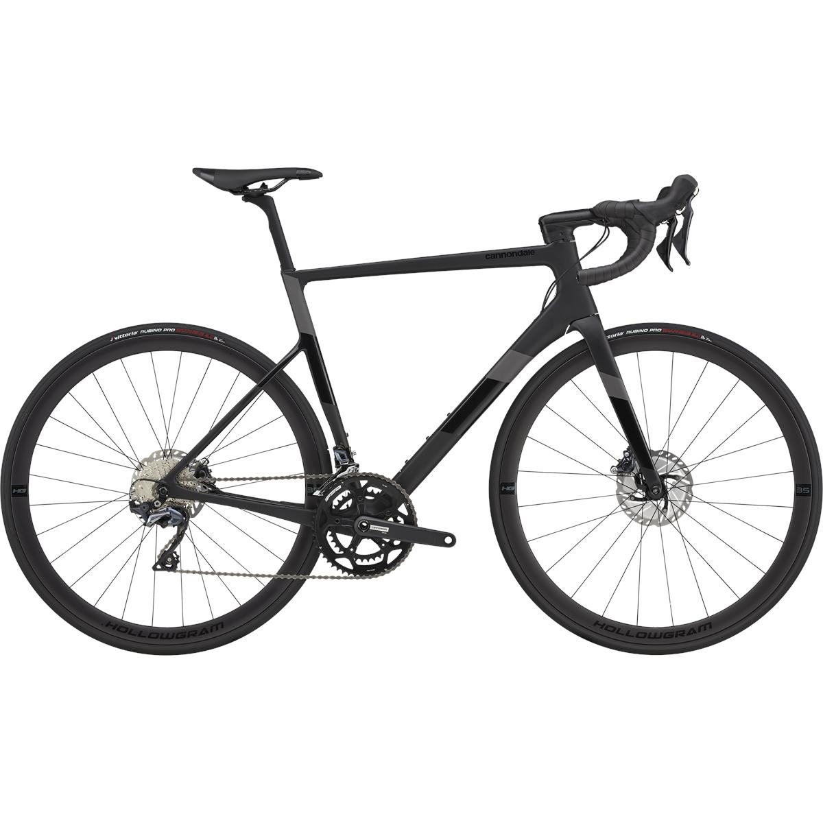 Cannondale SUPERSIX EVO DISC - Ultegra Carbon Rennrad - 2021 - Matte Black