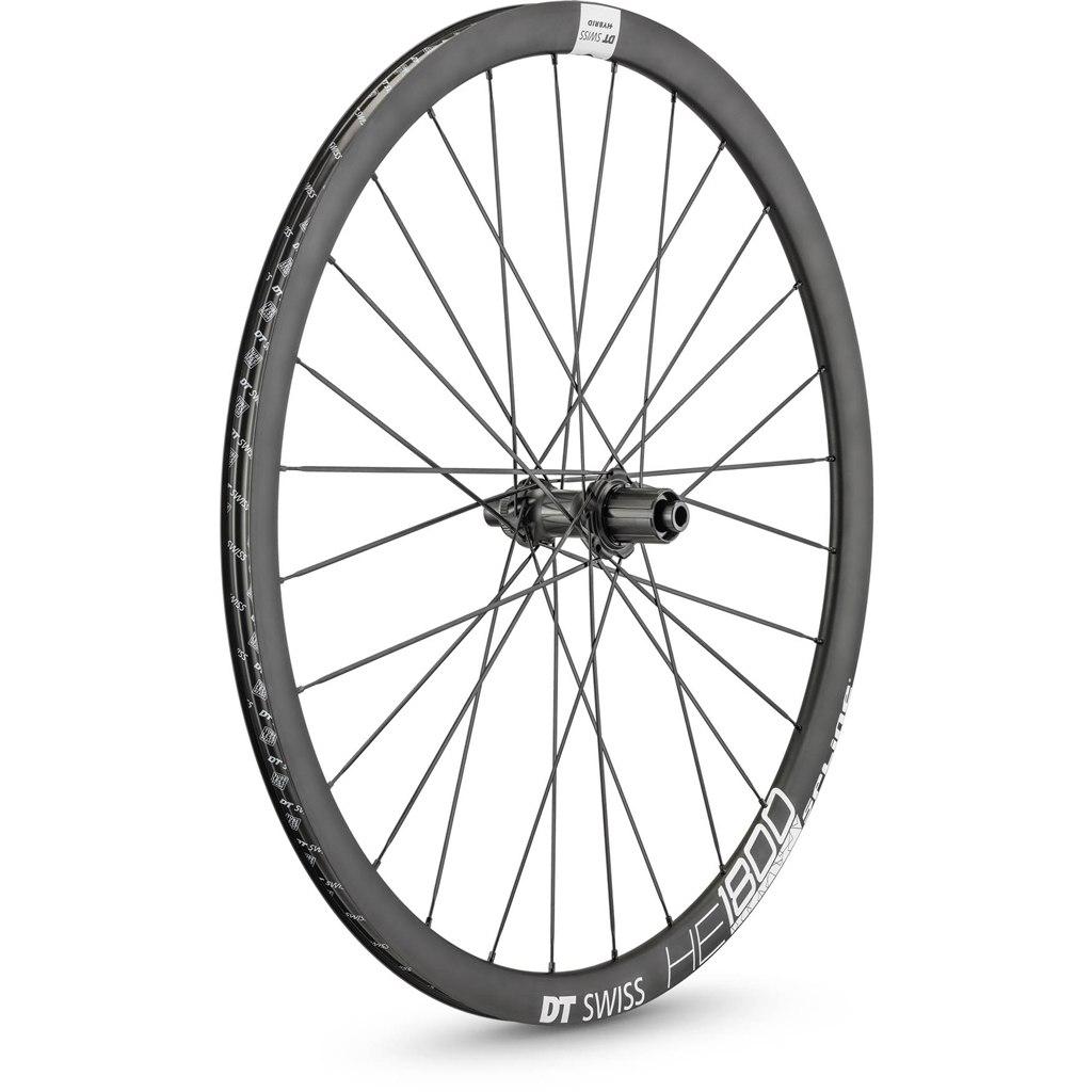 "Image of DT Swiss HE 1800 Spline Black db 32 - 29"" / 700C Wheelset - Clincher - Centerlock / 6 Bolt - FW: 12x110mm   RW: 12x148mm Boost"