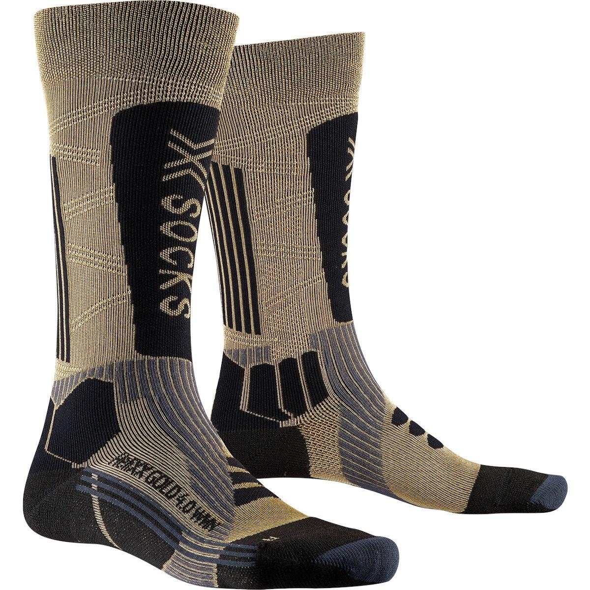 X-Socks HeliXX Gold 4.0 Socken für Damen - gold/black