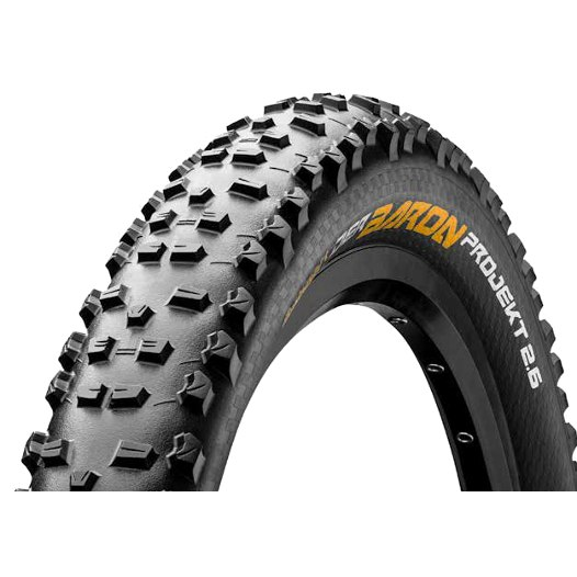 Image of Continental Der Baron Projekt ProTection Apex MTB Folding Tire - 27.5 x 2.6 Inch - black
