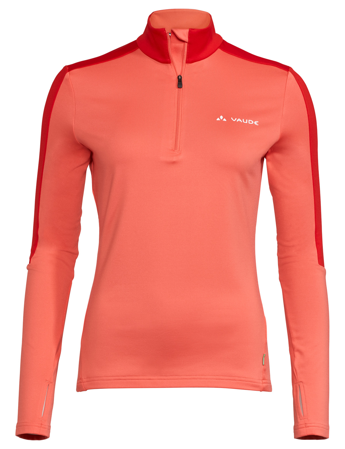 Vaude Livigno Halfzip II Damen Shirt - pink canary