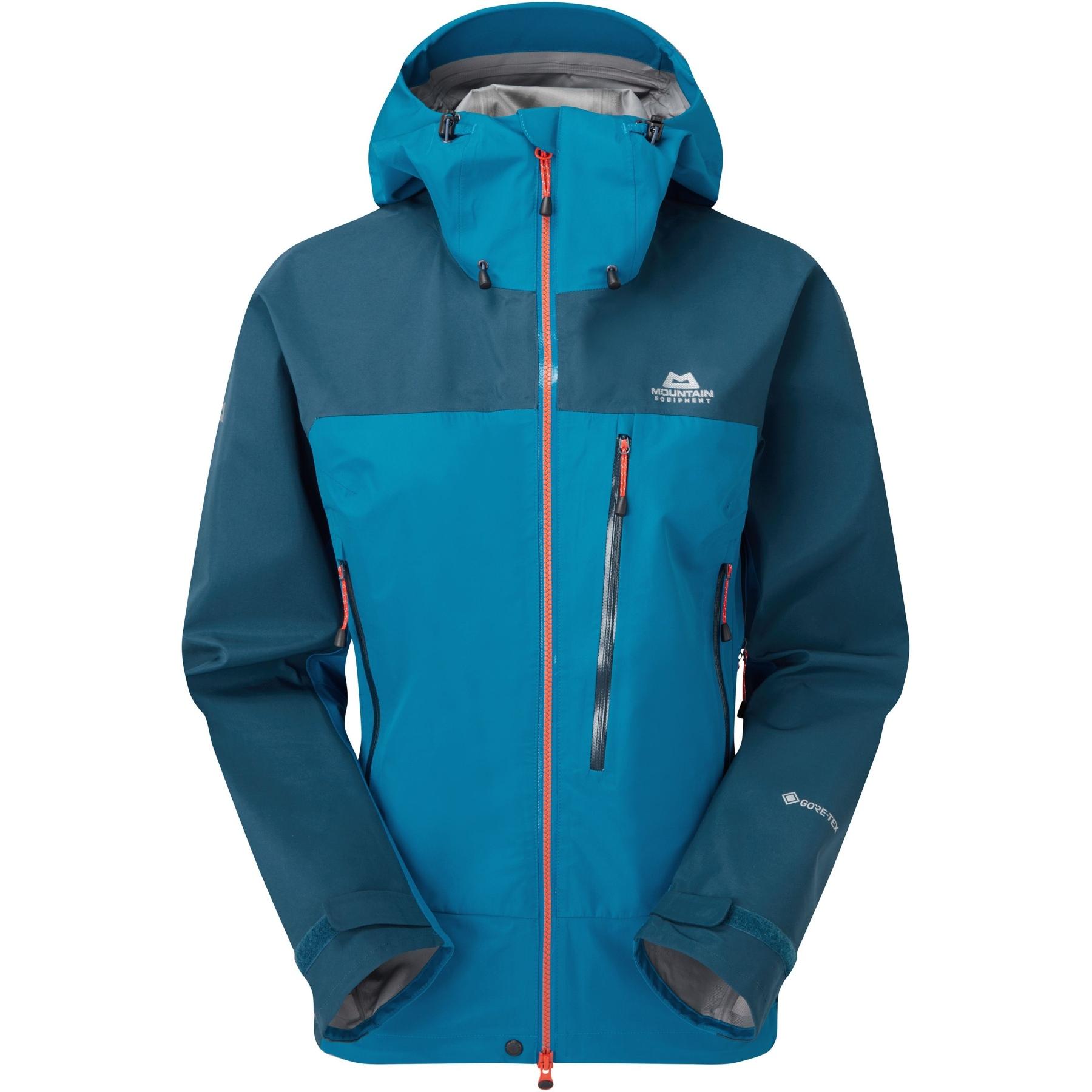Produktbild von Mountain Equipment Makalu Damenjacke ME-005844 - mykonos blue/majolica blue