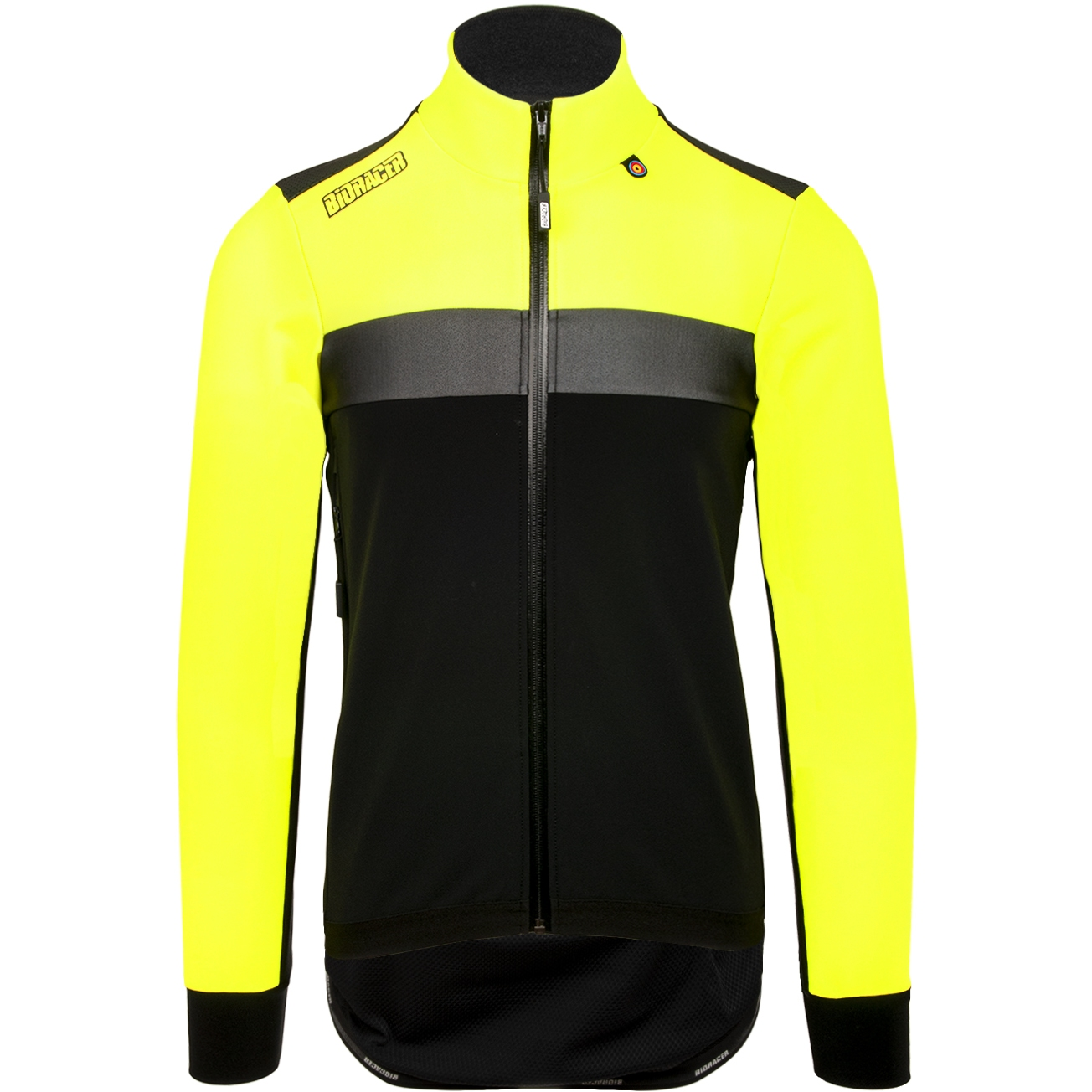 Bioracer Spitfire Tempest Protect Winter Jacket Subli Fluo - fluo yellow