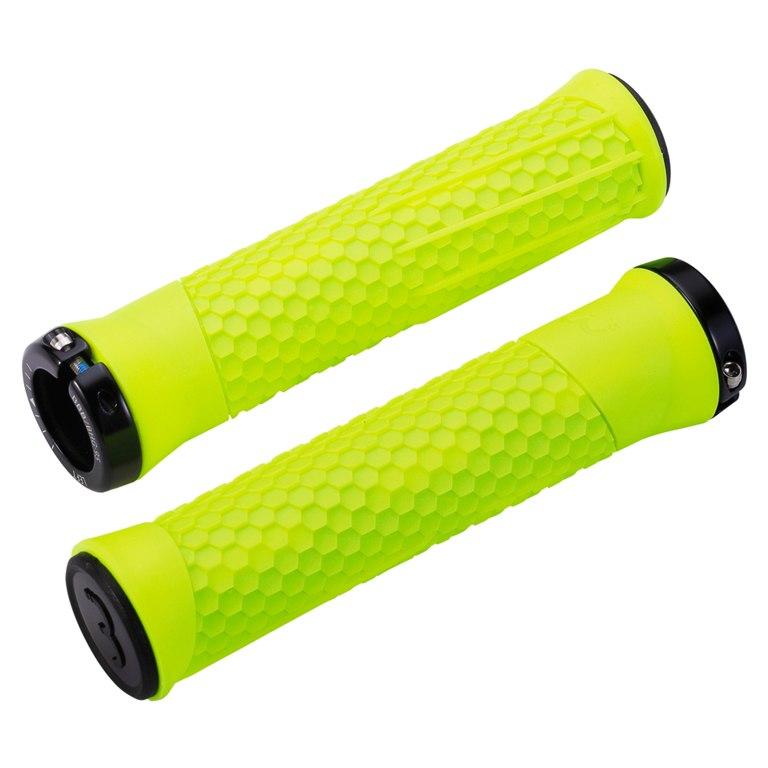 BBB Cycling Python BHG-95 Bar Grips - neon yellow