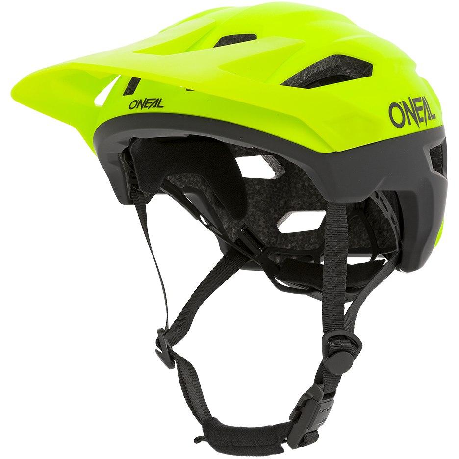 O'Neal Trailfinder Helmet - SPLIT neon yellow