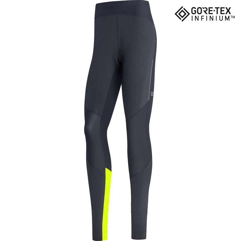 Foto de GORE Wear R5 GORE-TEX INFINIUM™ Malla larga - black/neon yellow 9908