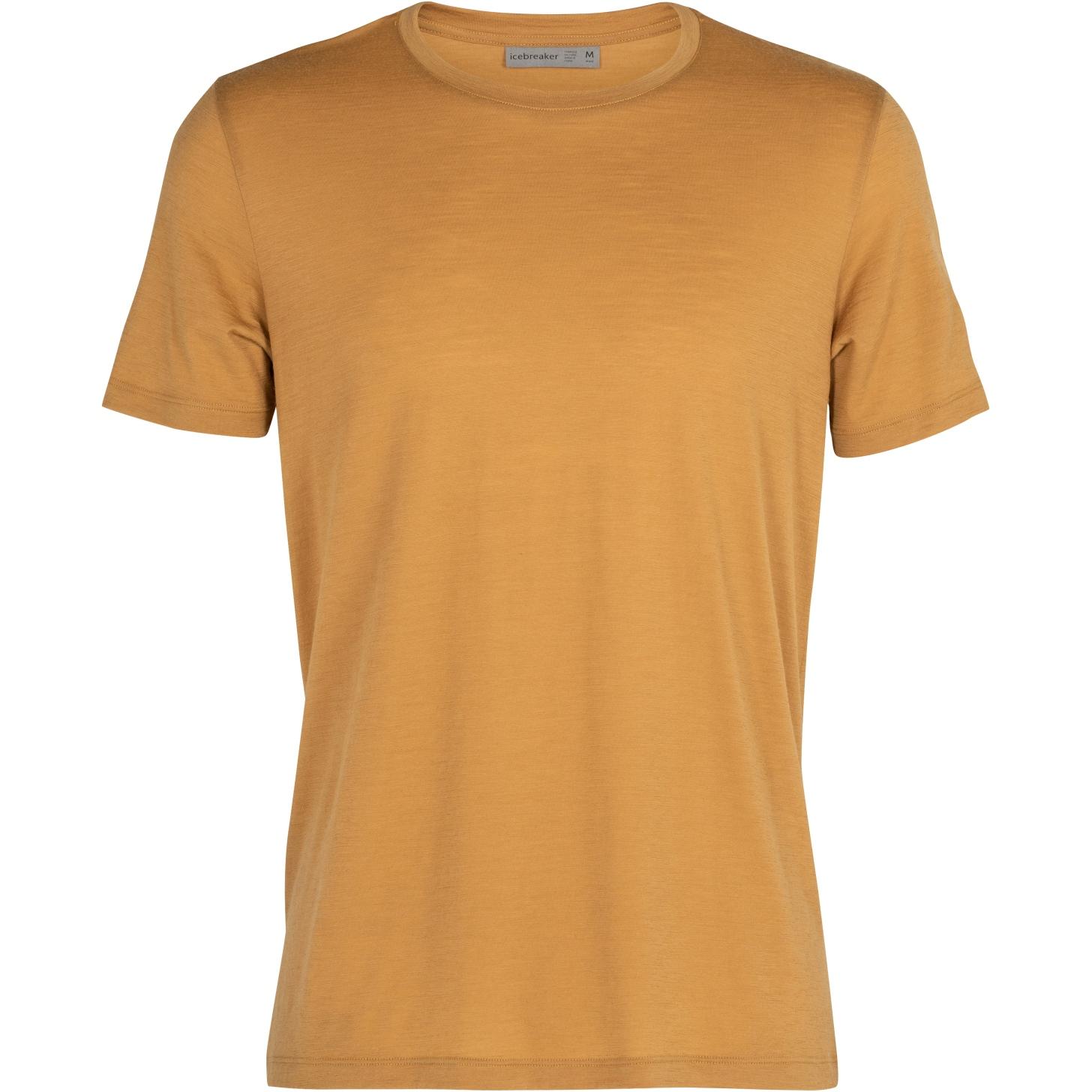 Icebreaker Tech Lite Crewe Herren T-Shirt - Coyote