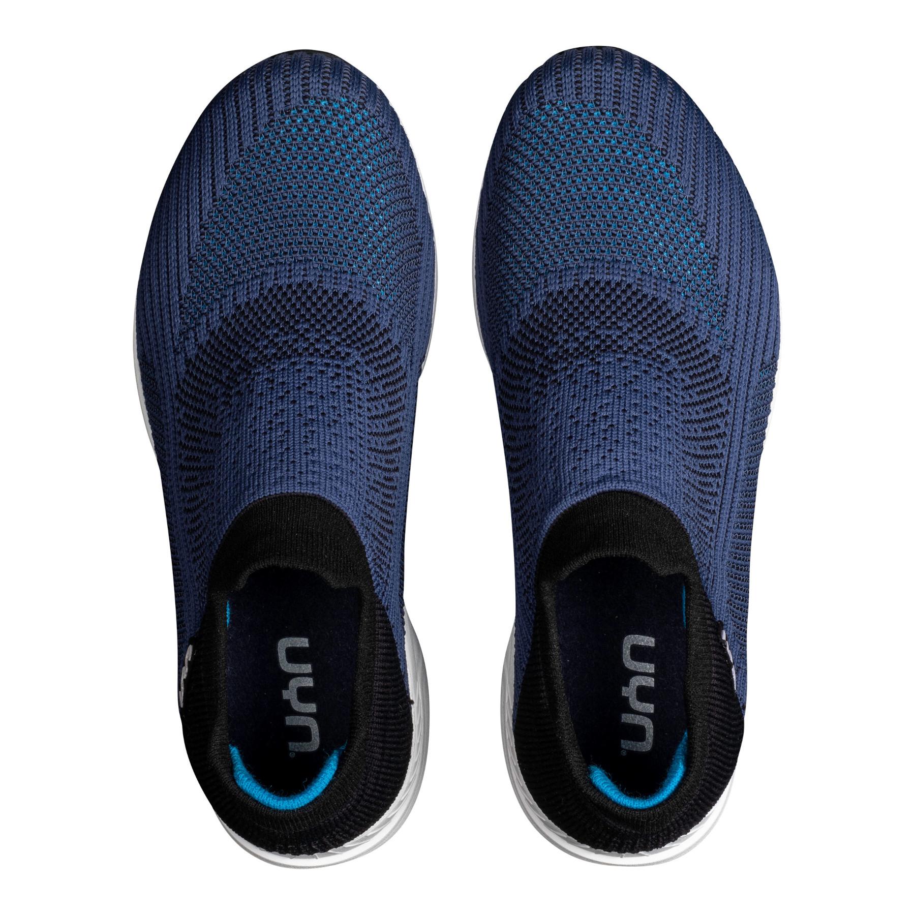 Image of UYN Free Flow Grade Man Running Shoes - Blue/Black