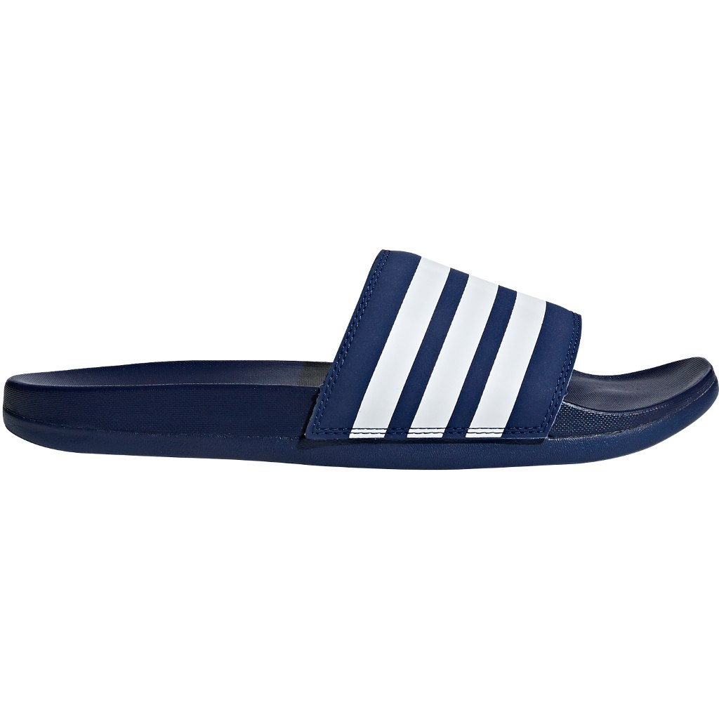 adidas Adilette Comfort Slides Bathing Shoes - dark blue/cloud white/dark blue B42114