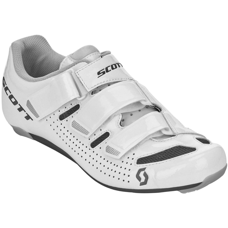 SCOTT Road Comp Lady Schuh - gloss white/gloss black