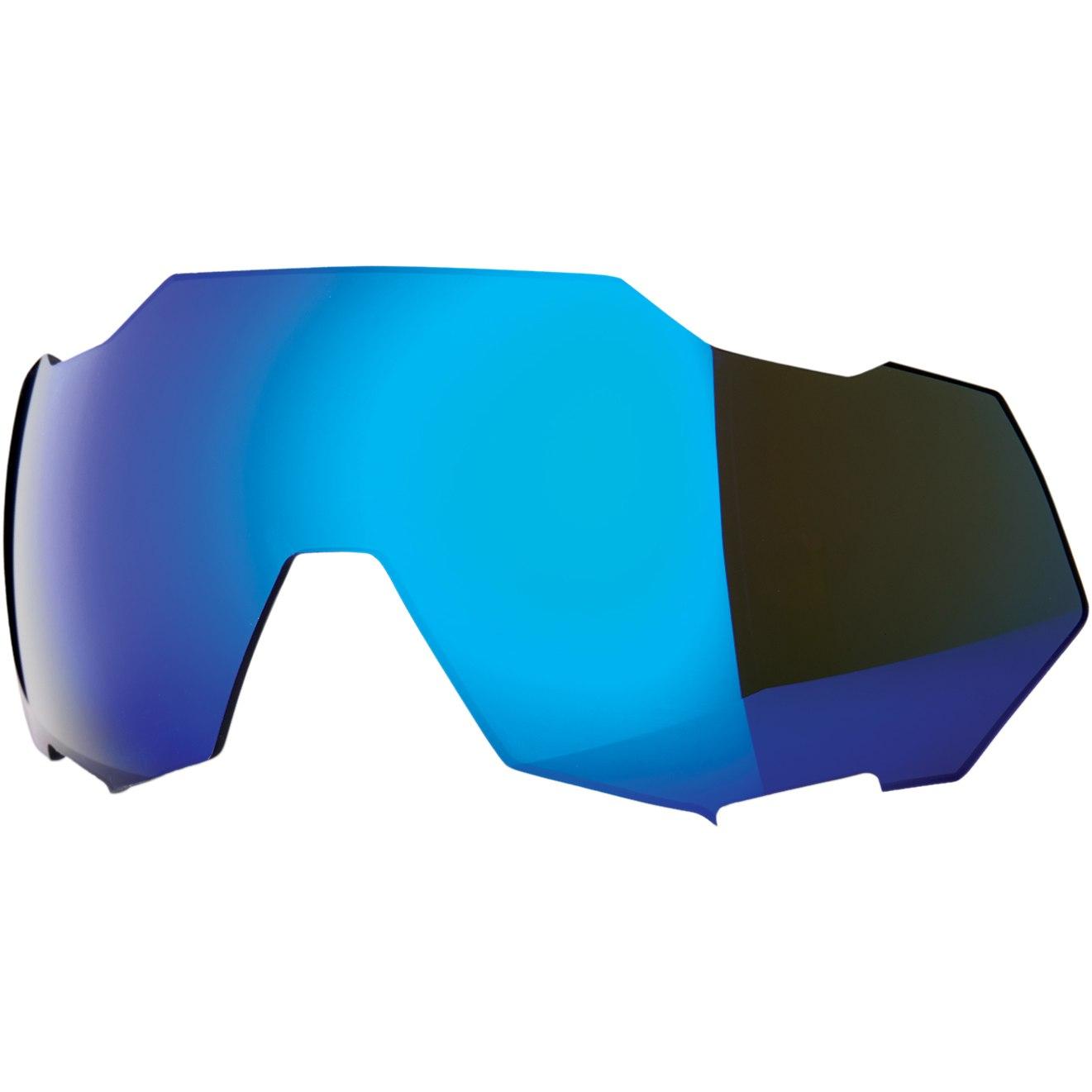 100% Speedtrap Mirror Lente de repuesto - Blue Mirror