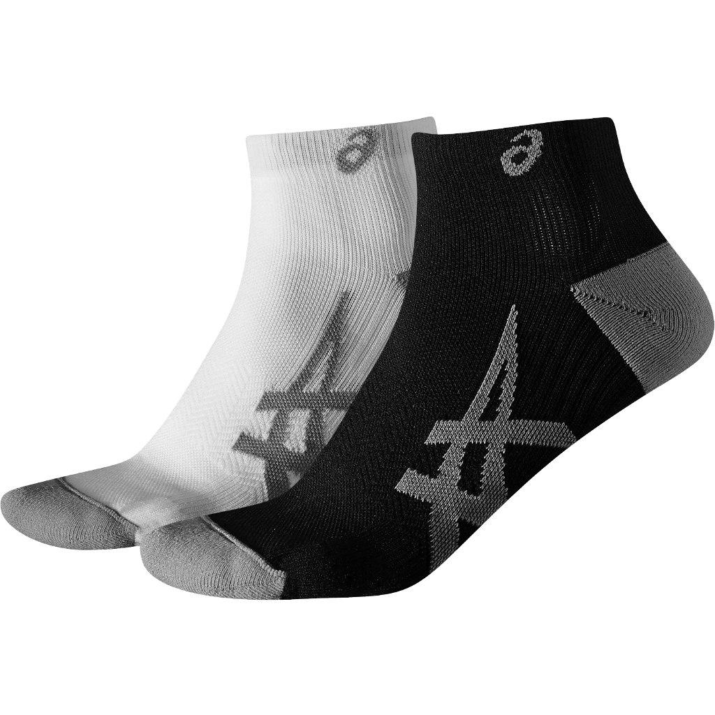 asics 2PPK Lightweight Sock - 2 pack (assorted) - real white