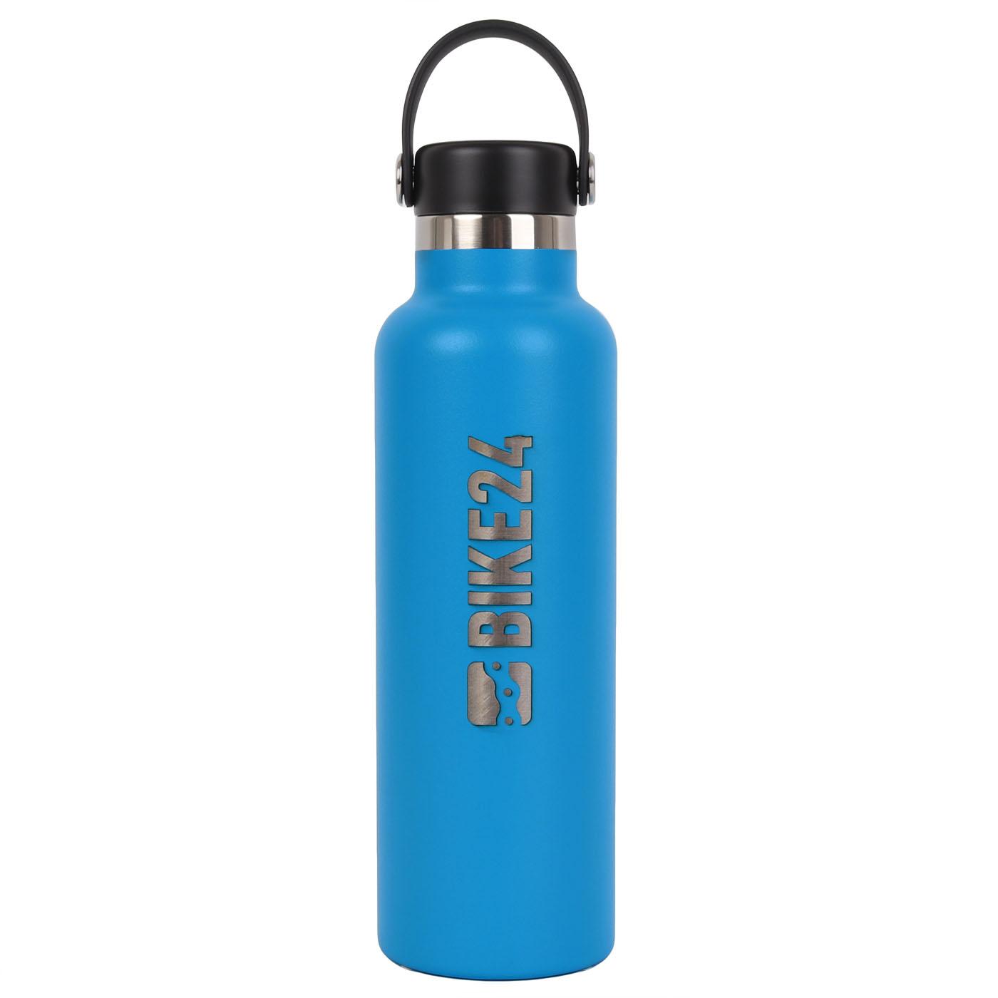Hydro Flask BIKE24 Standard Mouth Flex Cap Thermoflasche 621ml - Pacific