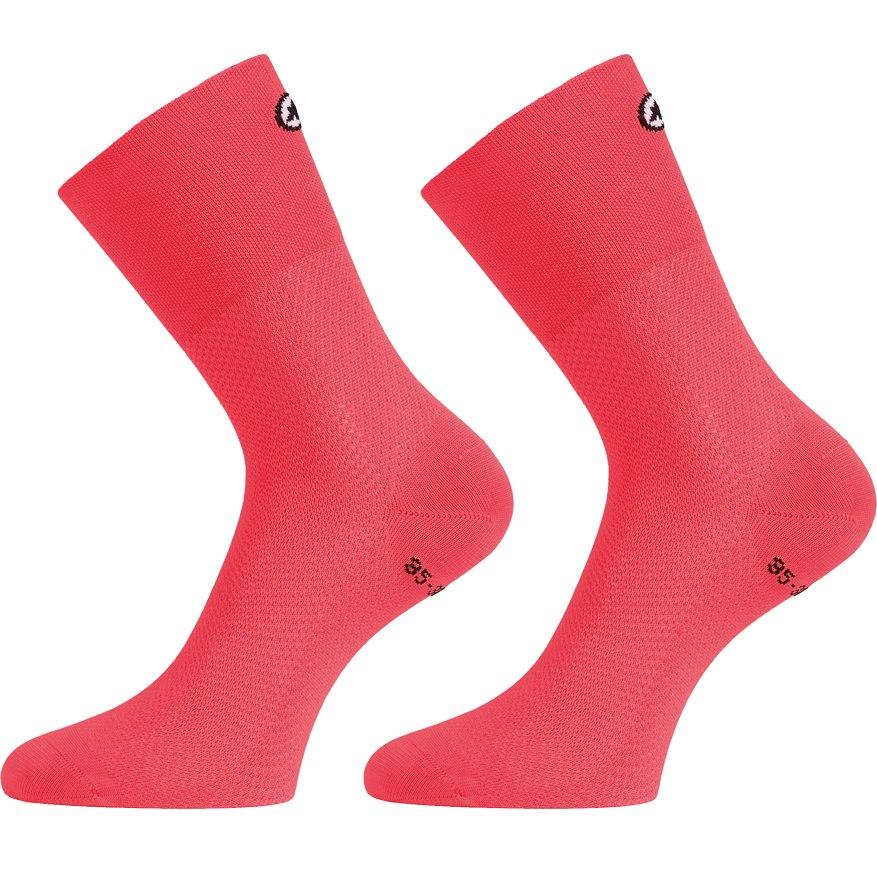 Assos ASSOSOIRES MILLE GT Socks - galaxyPink