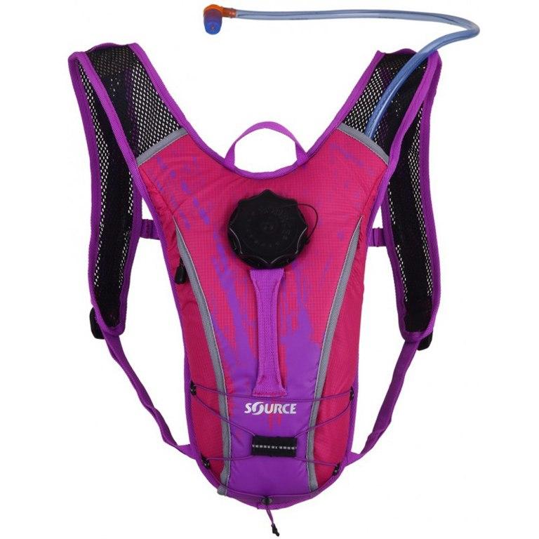 Source Spinner NC Kids Backpack + 1.5 L Hydration Bladder - kids pink/purple