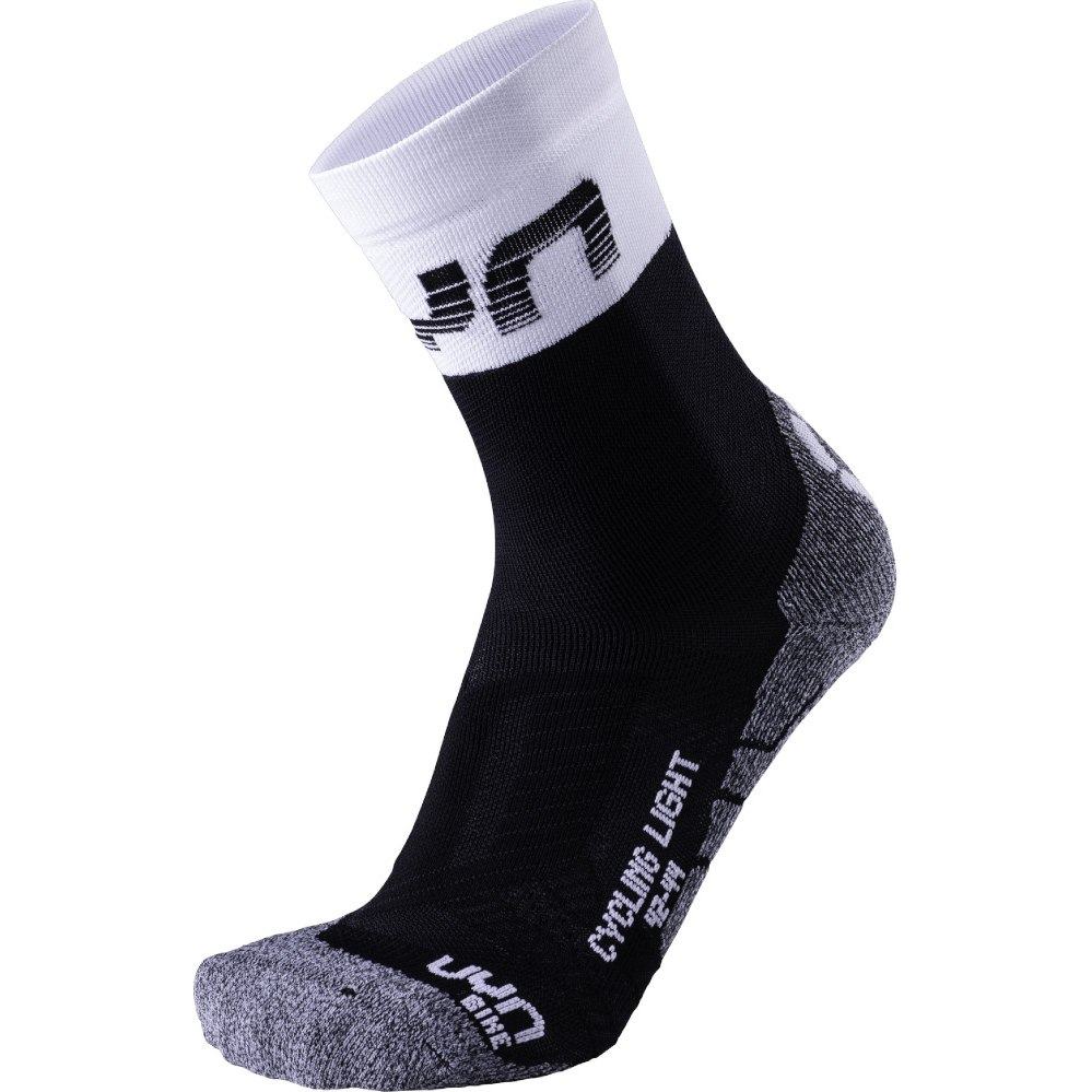 UYN Cycling Light Herren Socken - Black/White