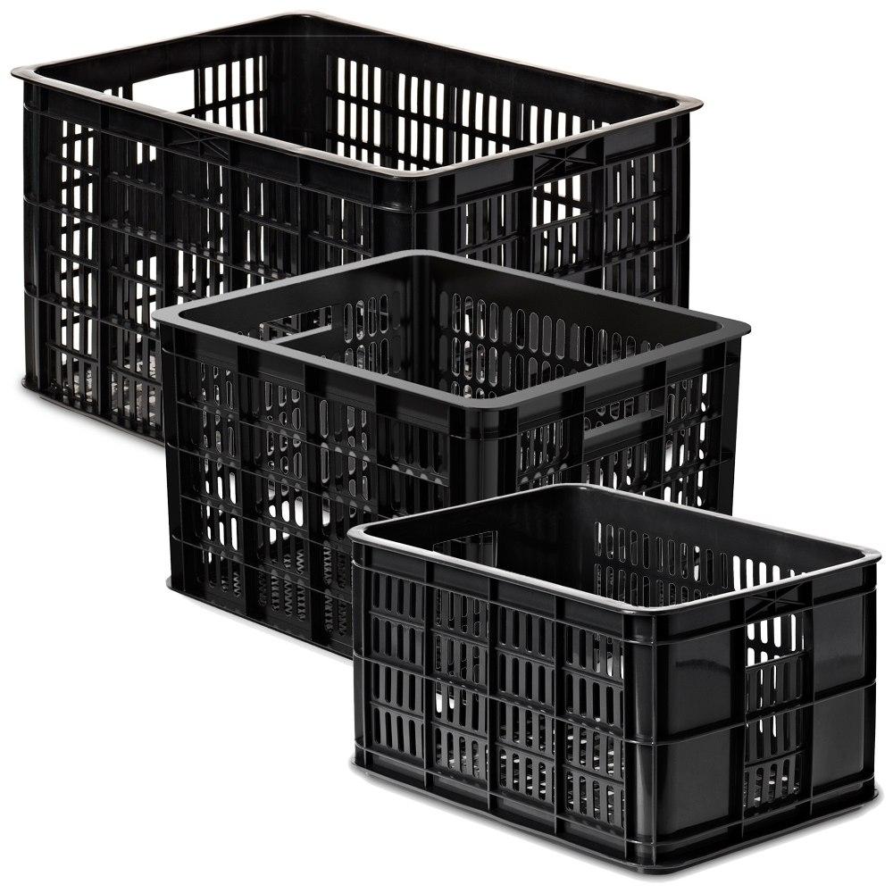 Foto de Basil Crate Bicycle Crate - black