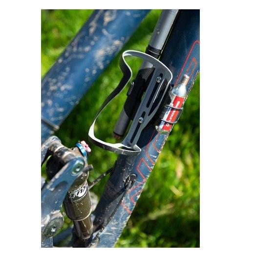 Image of Blackburn Clutch Carbon Side Entry Right Bottle Cage - grey matte