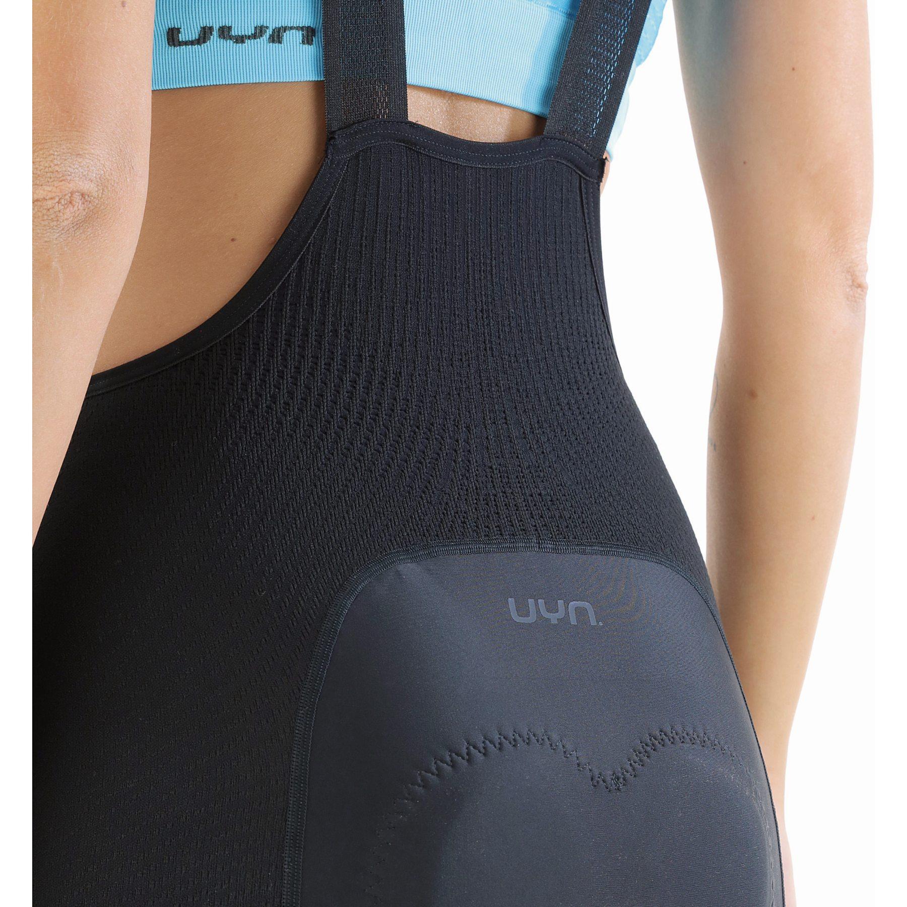 Bild von UYN Biking Ridemiles Trägerhose Damen - Schwarz/Schwarz