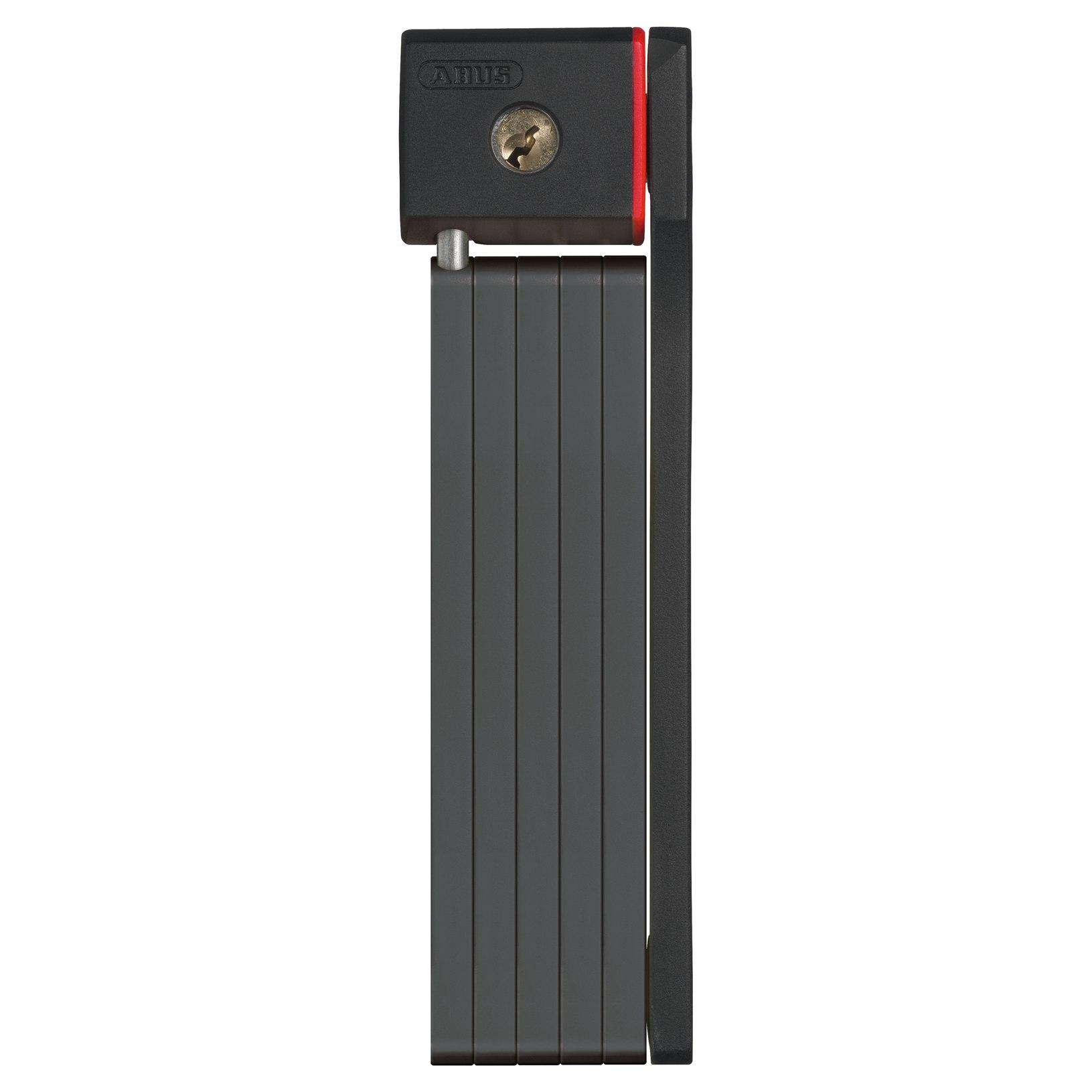 ABUS uGrip BORDO 5700/80 Folding Lock + ST Carrier - Black