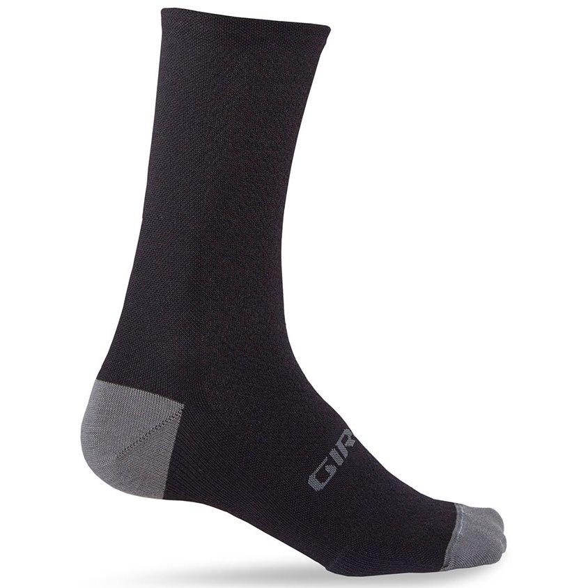 Giro HRc+ Merino Wool Socks 2020 - black/charcoal