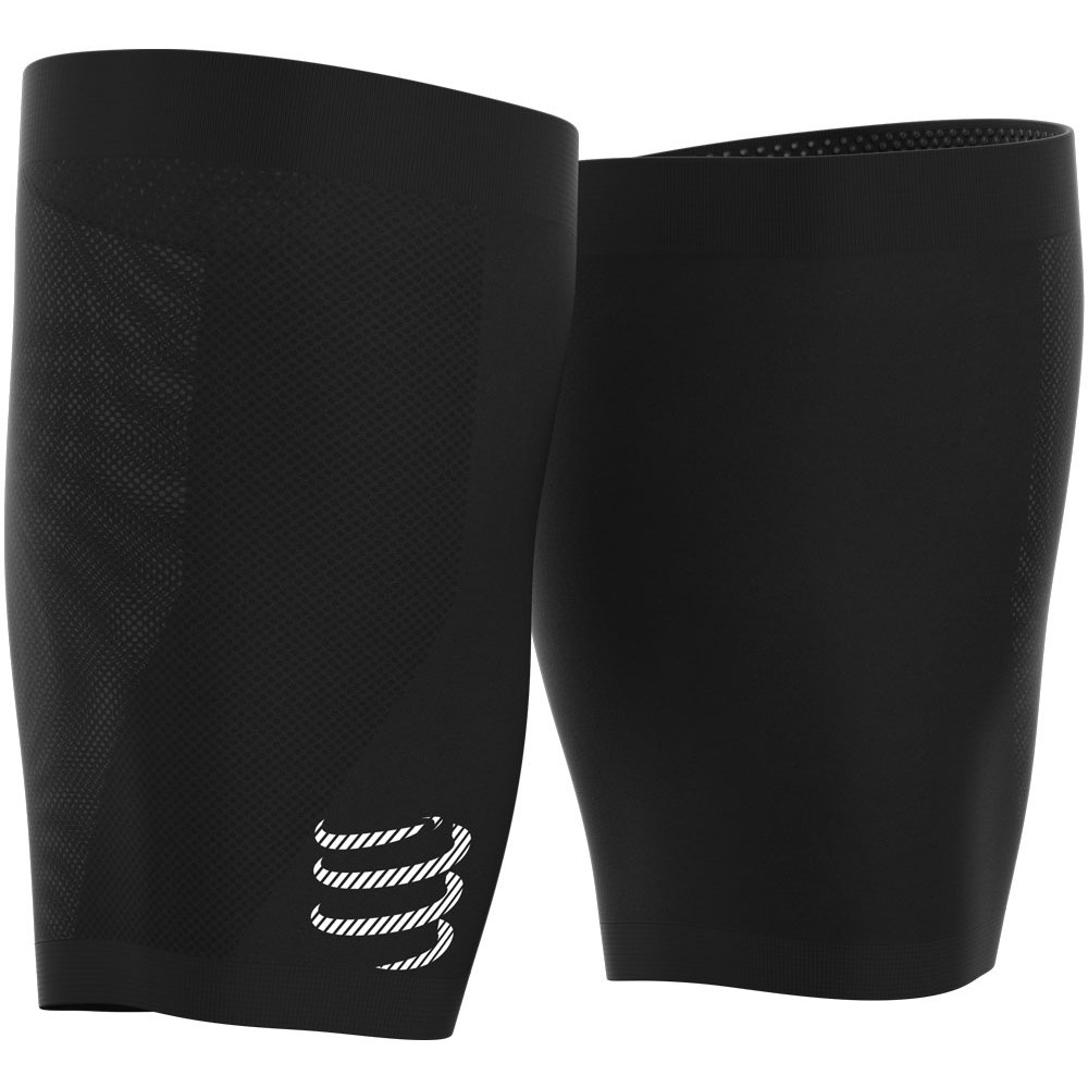 Picture of Compressport Under Control Quad Thigh Sleeves - black