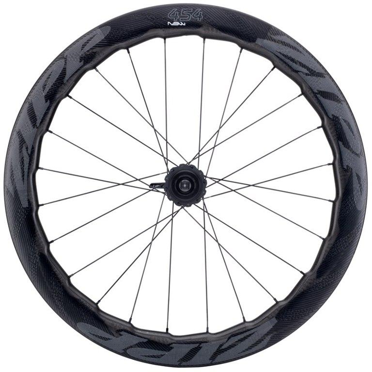 Image of ZIPP 454 NSW Disc Carbon Rear Wheel - Centerlock - Tubular - QR/12x142mm