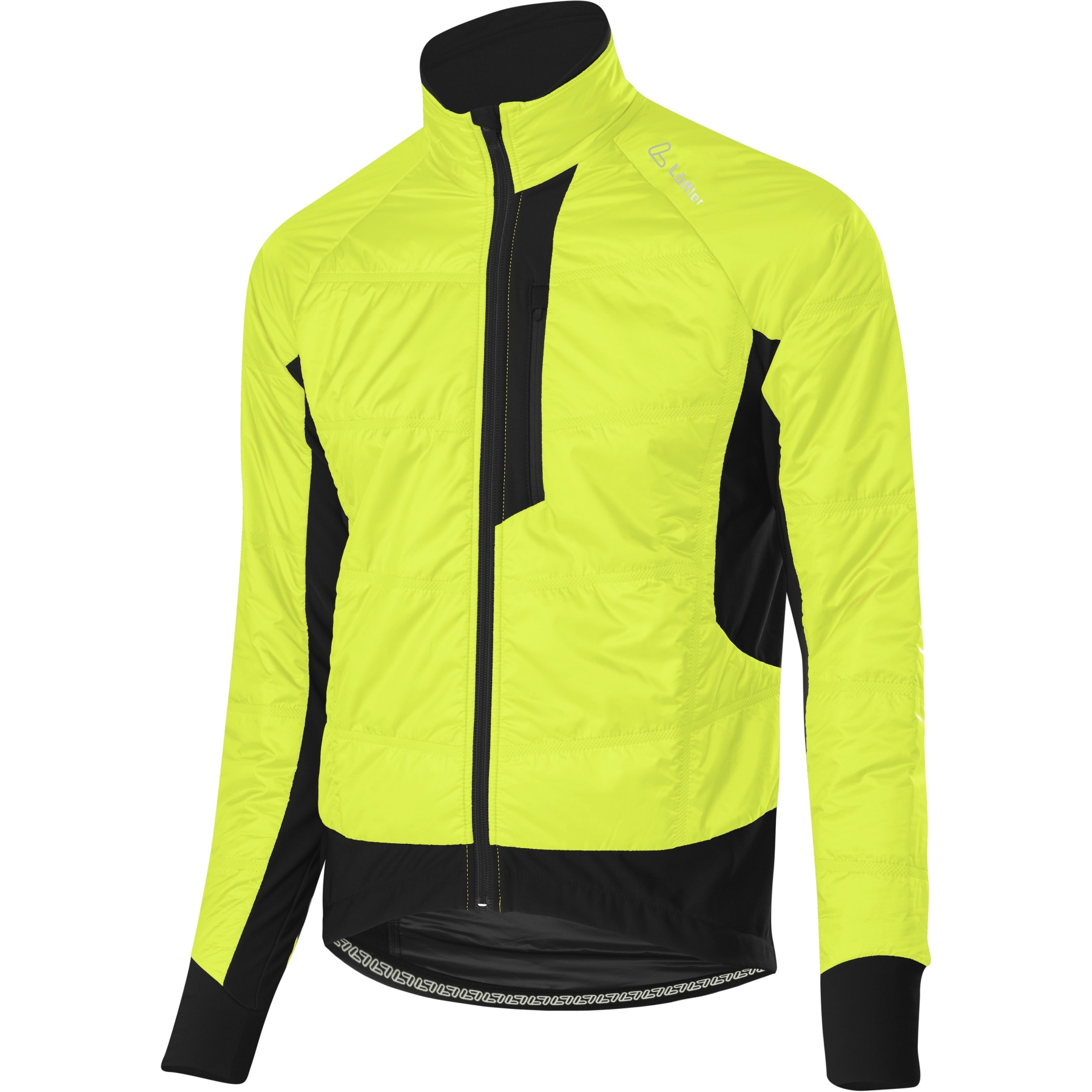 Löffler Bike Iso-Jacke Hotbond® PL60 20575 - neon gelb 200