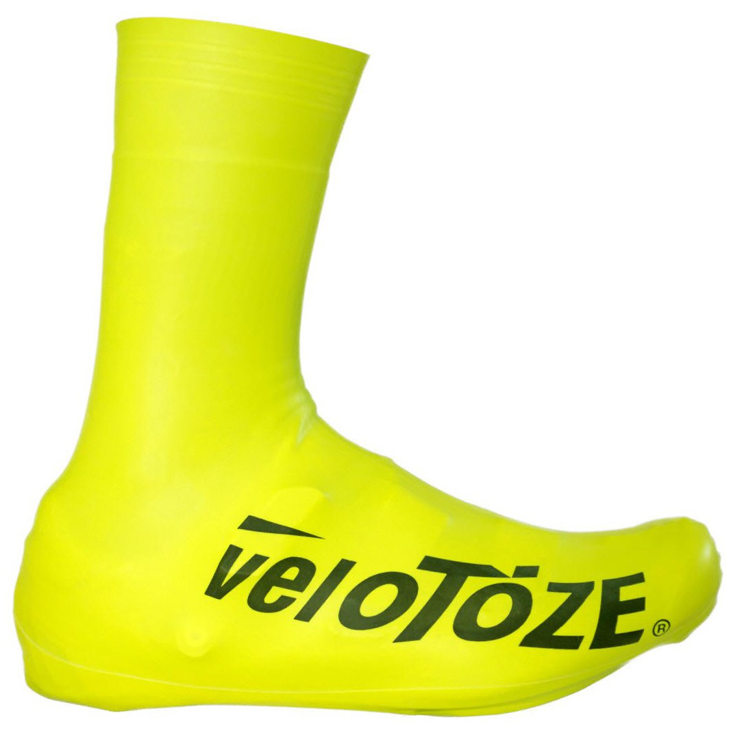 veloToze Tall Shoe Cover Road 2.0 - Überschuh Lang - Viz-yellow
