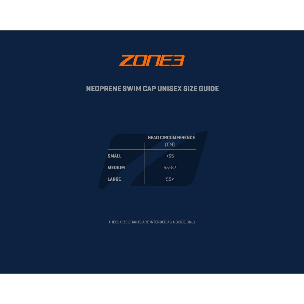 Bild von Zone3 Neoprene Schwimmkappe - hi-vis orange