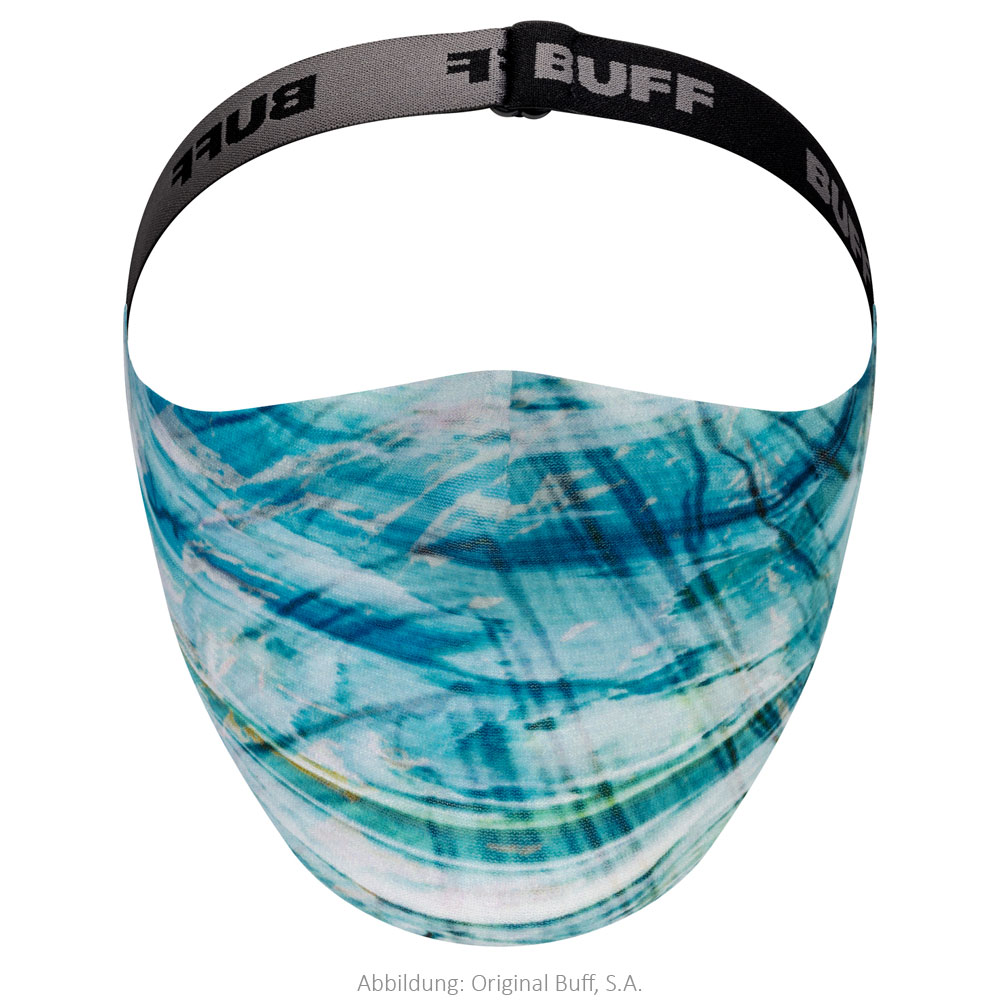 Buff® Filter Mask Protection - Makrana Sky Blue