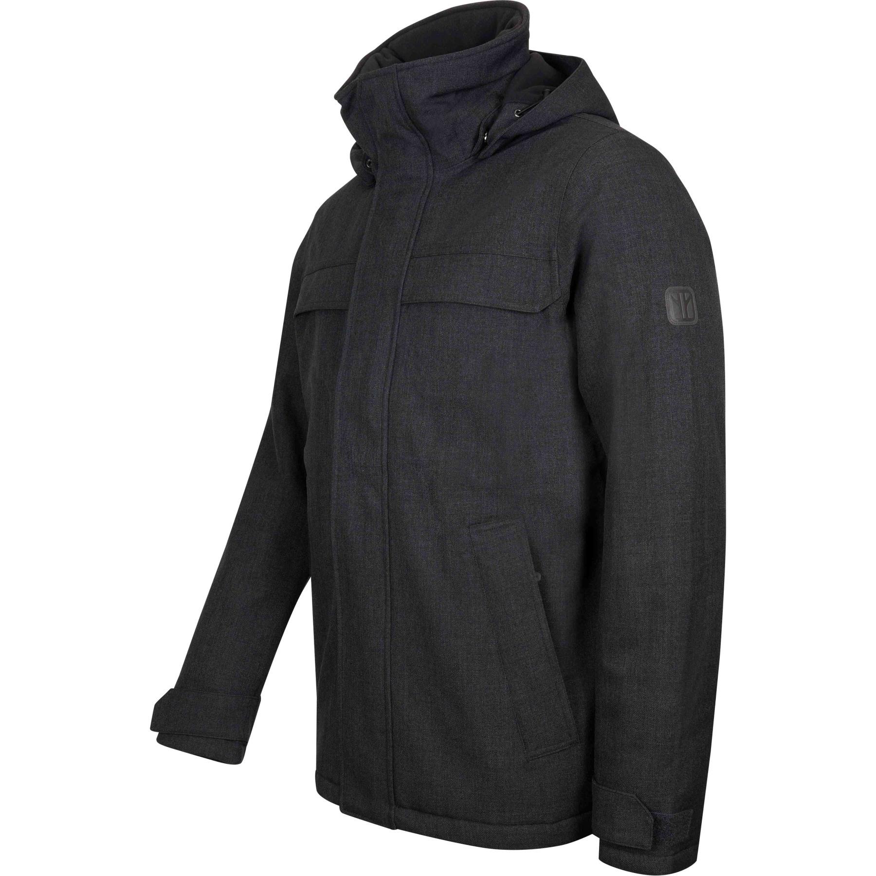 Image of Elkline UNDERCOVER Waterproof Outdoor Jacket - anthramelange