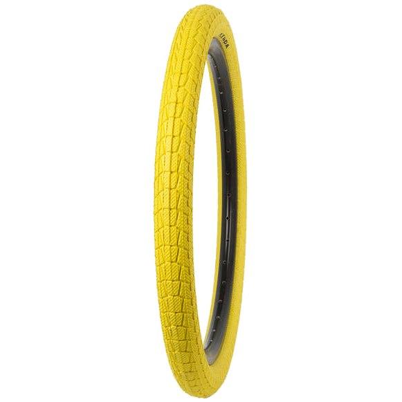 Kenda Krackpot BMX Wire Bead - 20x1.95 Inches - yellow