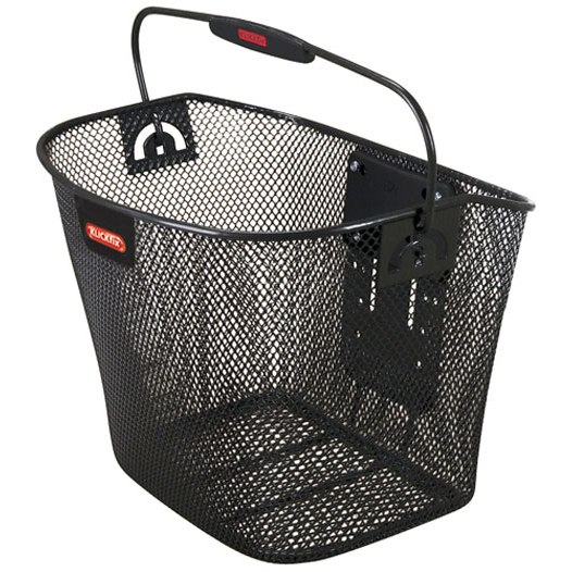 KLICKfix Uni Handle Bar Basket 0397 - black