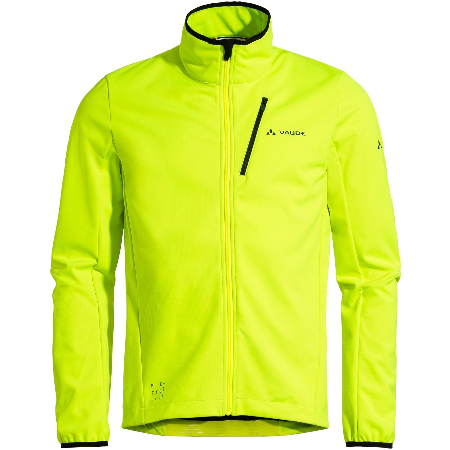 Vaude Matera Softshell Jacke - neon gelb