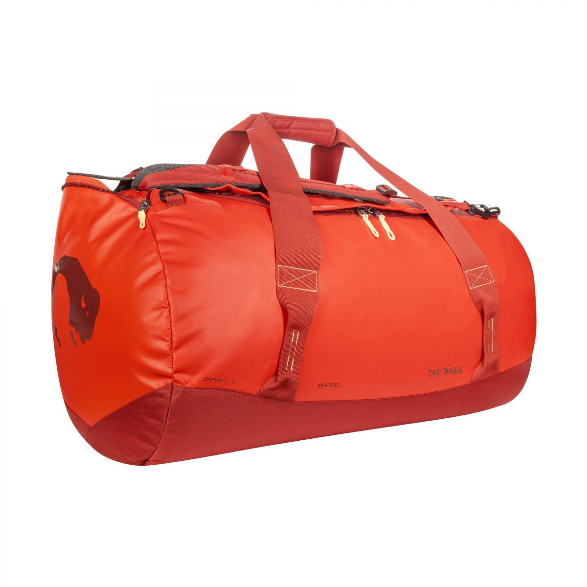 Picture of Tatonka Barrel XL Travel Bag - red orange
